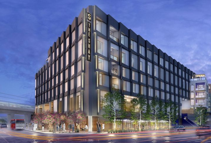 Rendering of The Shay at the Ivy Station in Culver City