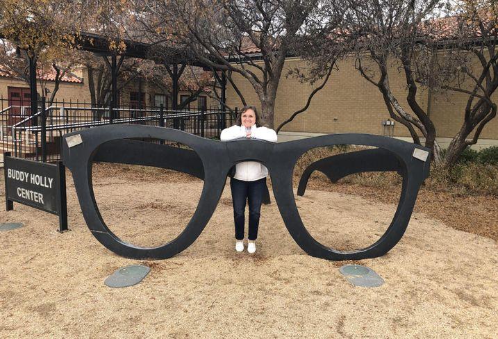 Gensler's Houston Co-Managing Director Stephanie Burritt at Lubbock's Buddy Holly Center