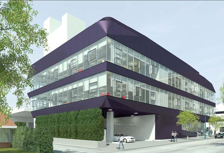 Skanska's 9000 Wilshire Blvd. project in Beverly Hills