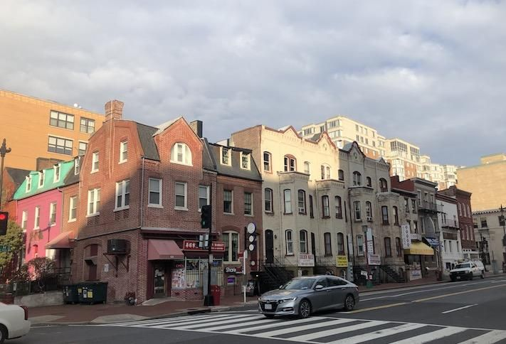 The 500 block of H Street NE, where Acumen is planning its hotel project