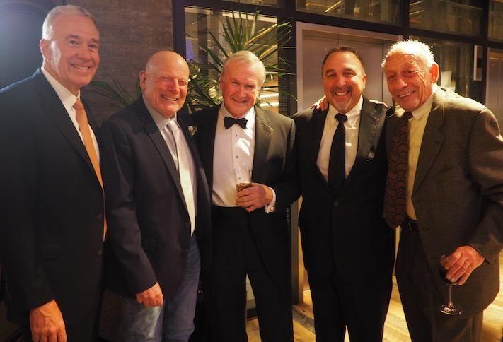 Davis Construction's Jim Davis, Douglas Development's Douglas Jemal, Miller & Long's John McMahon, Douglas's Paul Millstein and Ronald Jemal