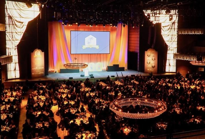 More than 1,000 people attended the 2019 Washington Business Hall of Fame dinner at The Anthem