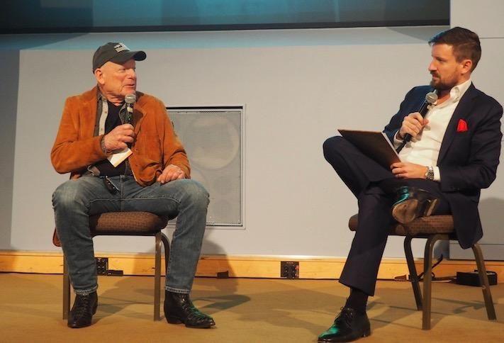 Douglas Development founder Douglas Jemal and Bisnow's Mike Ponticelli