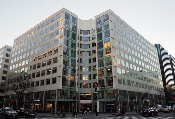 The office building at 1800 M St. NW