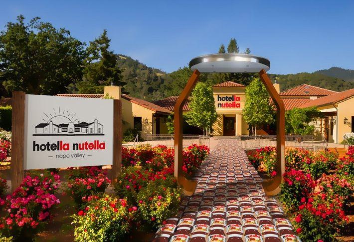 Nutella Hotel
