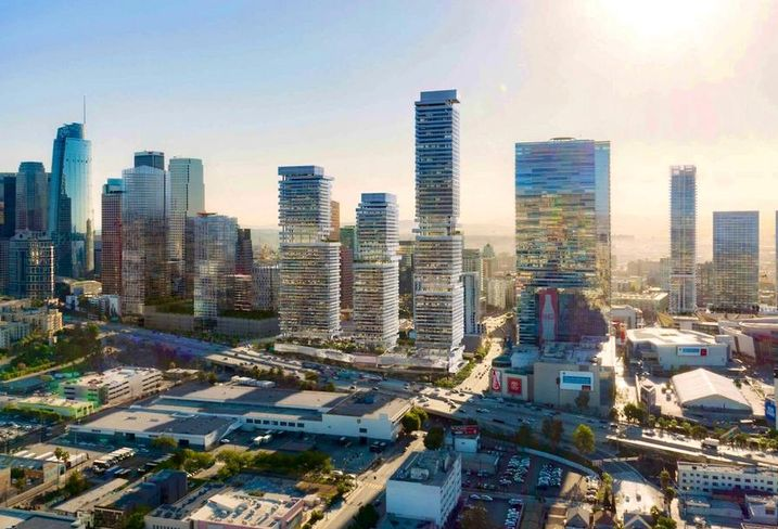 City Century's proposed Olympia project in downtown Los Angeles