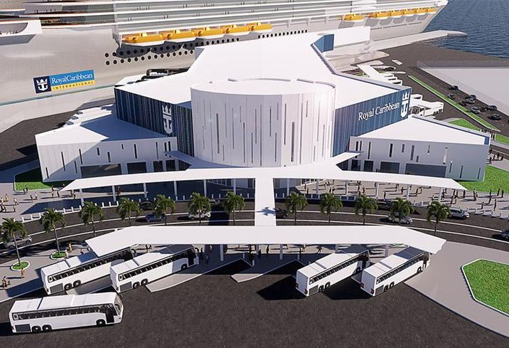 Royal Caribbean Galveston Cruise Terminal Rendering