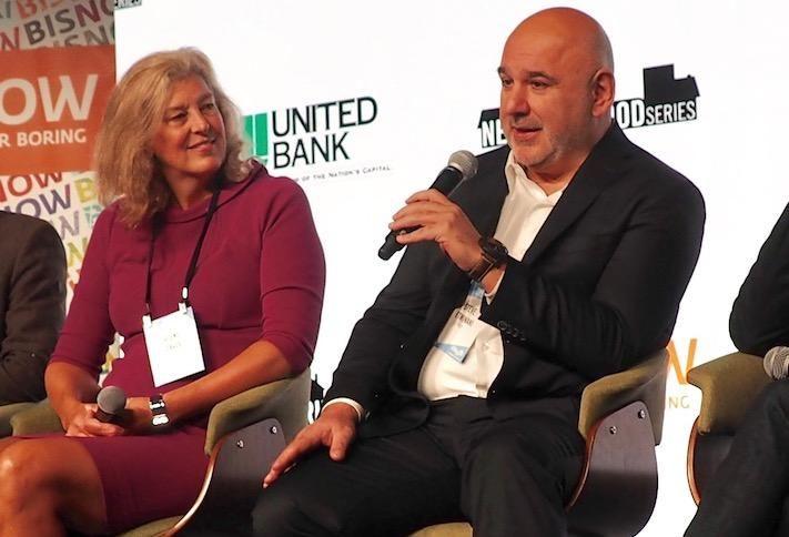 Urban Atlantic's Vicki Davis and RCP Development's Steve Etminani