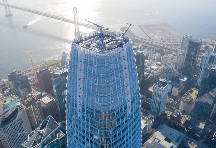 Hines and Boston Properties Salesforce Tower