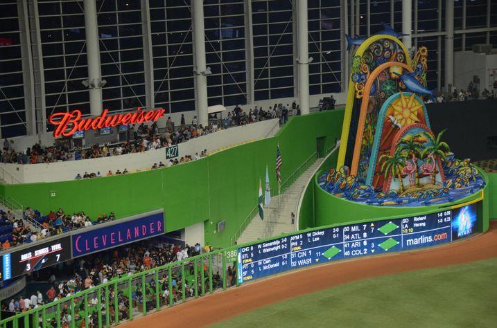 Miami Marlins Building Brew Hall Inside Baseball Stadium