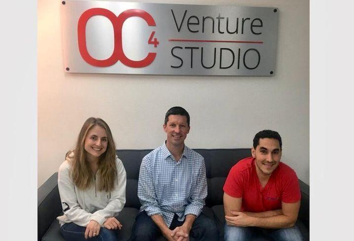 OC4 Venture Studio Head of Studio Michelle Drucker, President Carey Ransom and Partner Kyle Kamrooz