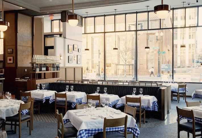 The Maialino Mare restaurant at the Thompson Hotel Washington D.C.