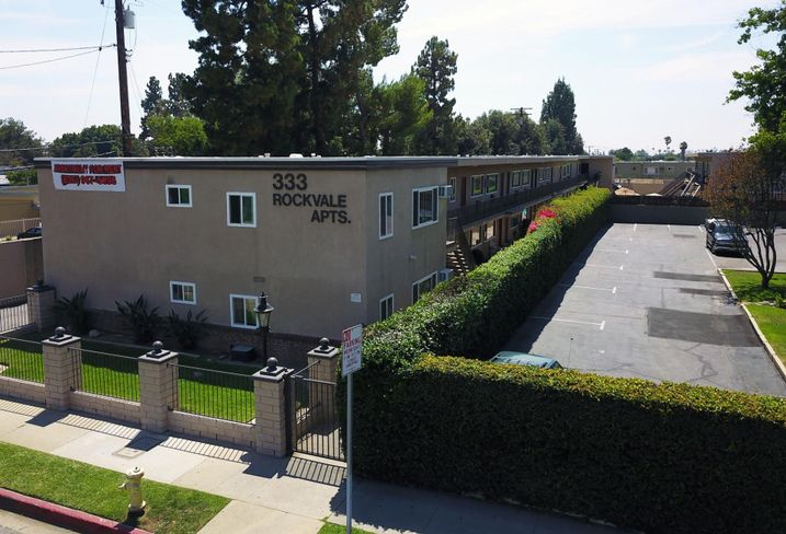 The Rockvale Apartments at 333 North Rockvale Ave. Azusa