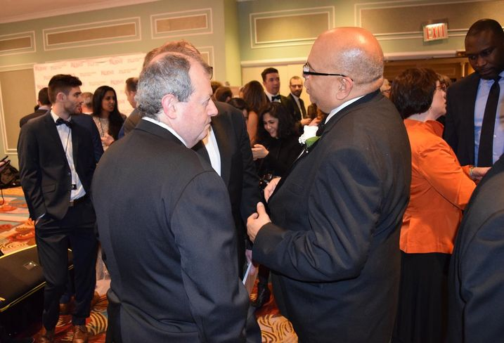 James Whelan and John Banks, the current and former president of REBNY