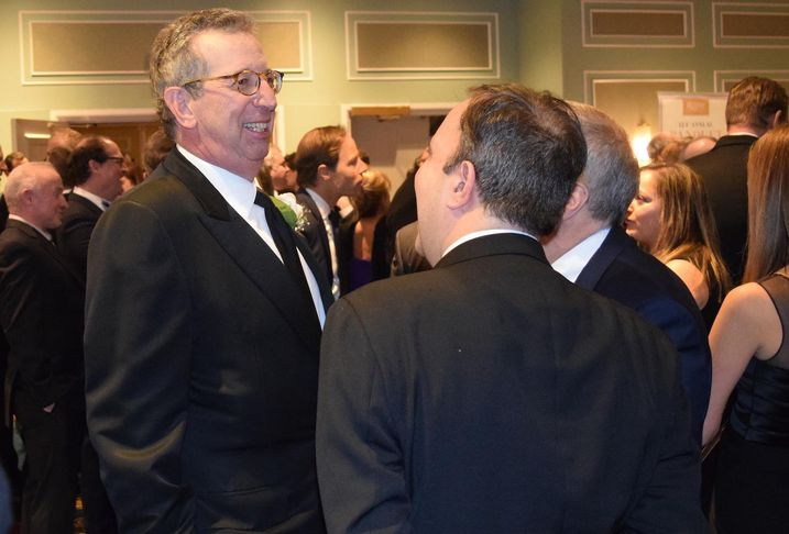 REBNY Chairman Bill Rudin, the CEO of Rudin Management, at REBNY's 124th annual banquet Jan. 16, 2020