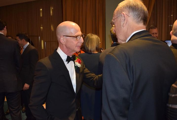 Vornado's David Greenbaum was honored with The Harry B. Helmsley Distinguished New Yorker Award at REBNY's 124th annual banquet Jan. 16, 2020.
