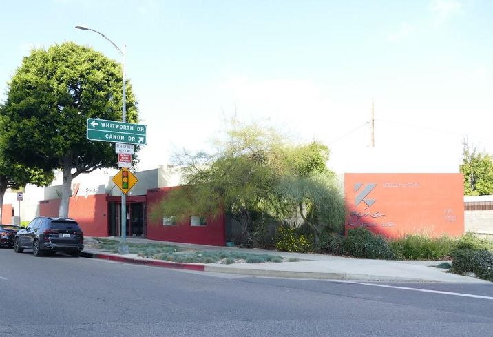 Mixed-use retail and office building at 470 South Beverly Drive in Beverly Hills