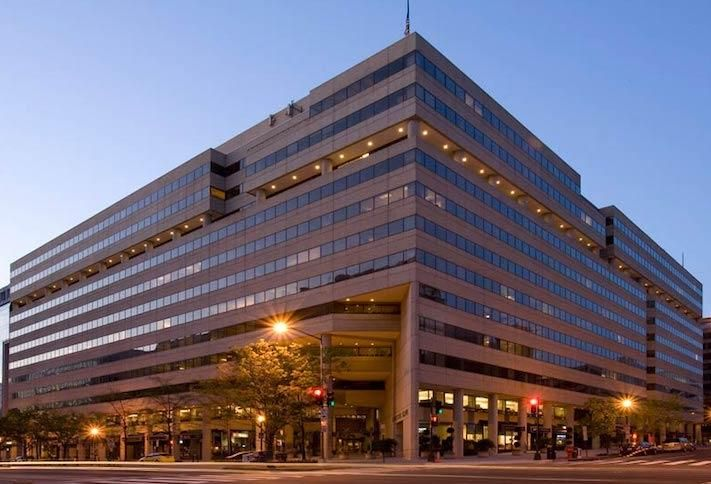 The International Square complex at 1850 K St. NW