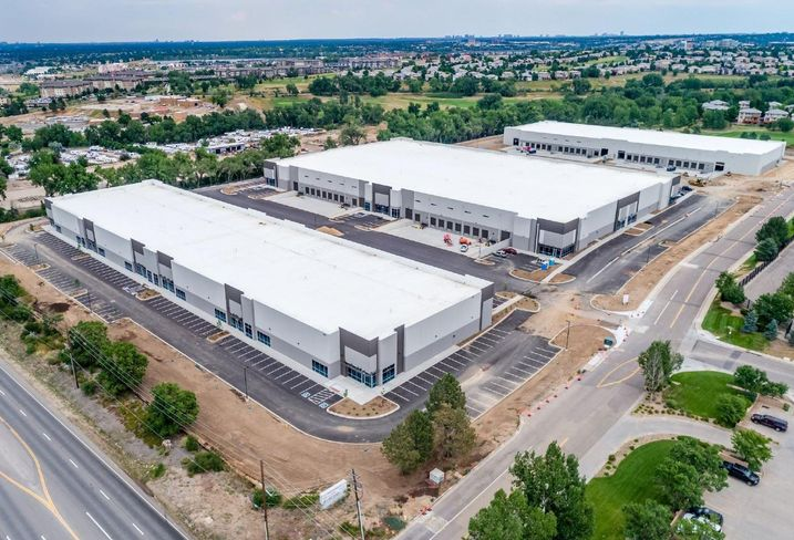 Parc Santa Fe is a three building industrial complex near Highlands Ranch.