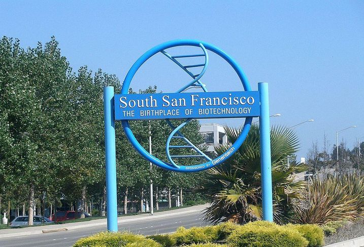 South San Francisco Welcome Sign