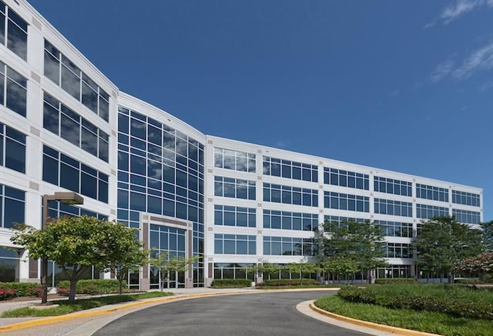 The office building at 13900 Lincoln Park in Herndon