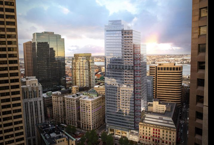 Boston's New Skyscrapers Are Mostly Available. Office Experts Say That's A Good Thing