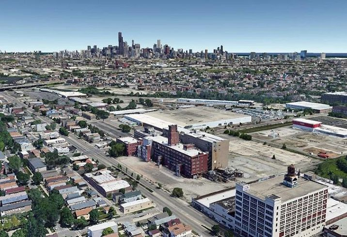 South Branch Commerce Center Site Aerial View