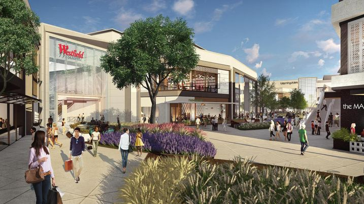 Westfield Valley Fair expansion rendering