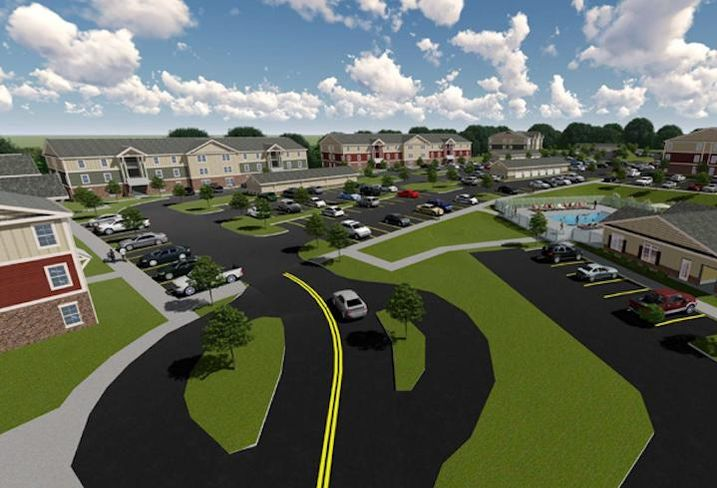 The Kodak Crossing project in Tennessee, a project for which Walker & Dunlop arranged opportunity zone financing last year.
