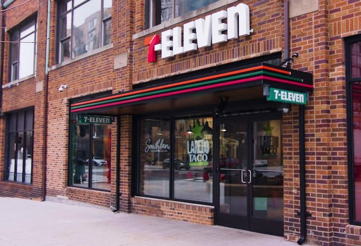 The new 7-Eleven location in D.C.  at 504 K St. NW.