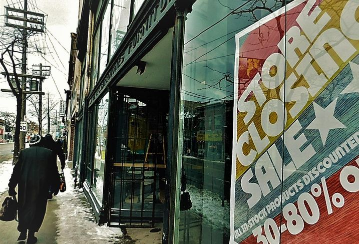 Queen Street store closing