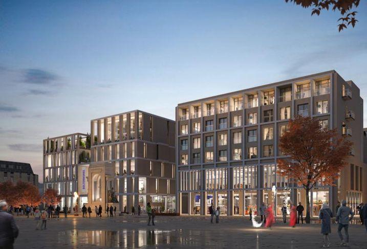 Bolton/Beijing Construction Link Up Yields 113K SF Office Scheme