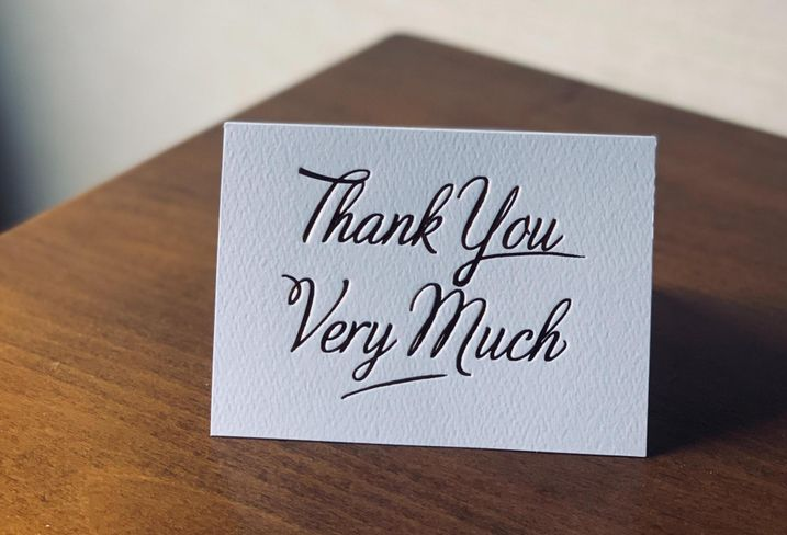The Case For Handwritten Thank You Notes
