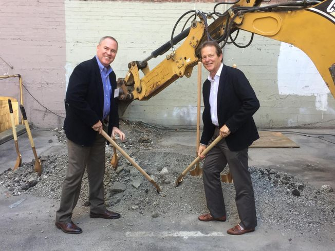 Bridge Investment Group Vice Chairman Dan Stanger and Forge Development Partners President and CEO Richard Hannum