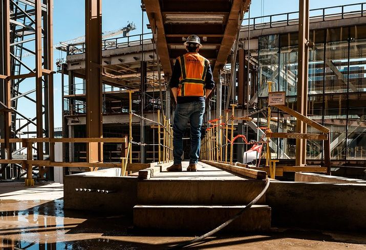 What Social Distancing Looks Like On An Active Construction Site