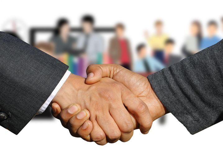 Handshake agreement negotiation