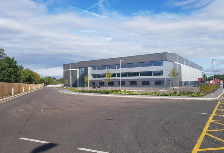 Developed by Harbert European Real Estate Fund III, Trafford Point is located on Ashburton Road West, close to J10 of the M60 motorway