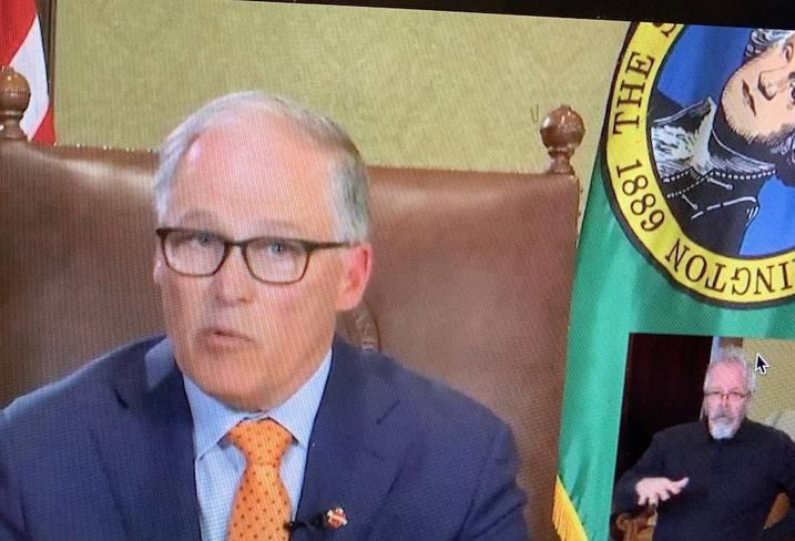 Dissension Builds In Washington As Inslee Hints At Extending Stay-Home Order