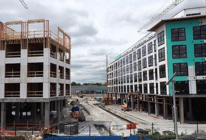 The Bryant Street development near the Rhode Island Avenue Metro station.