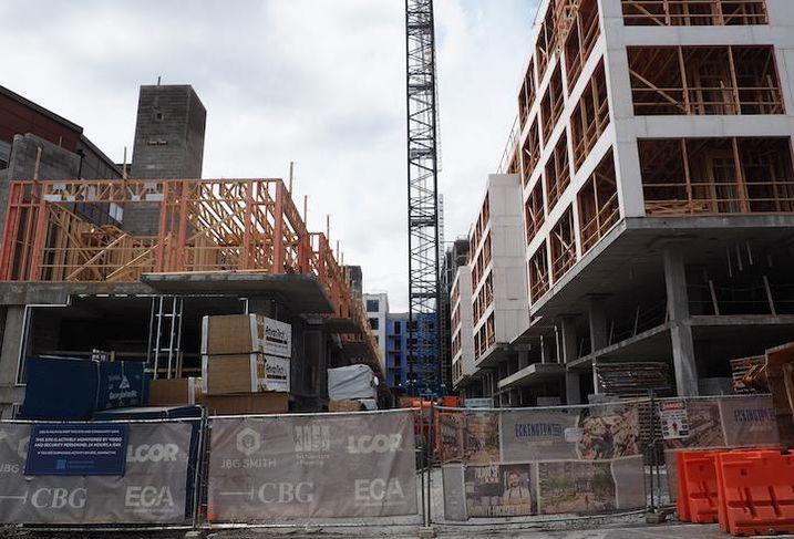The Eckington Yards development in Northeast D.C.