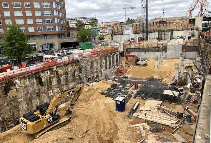 The Washington Gateway development in NoMa.