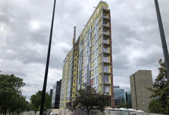 The Capital Vista development in Mount Vernon Triangle.