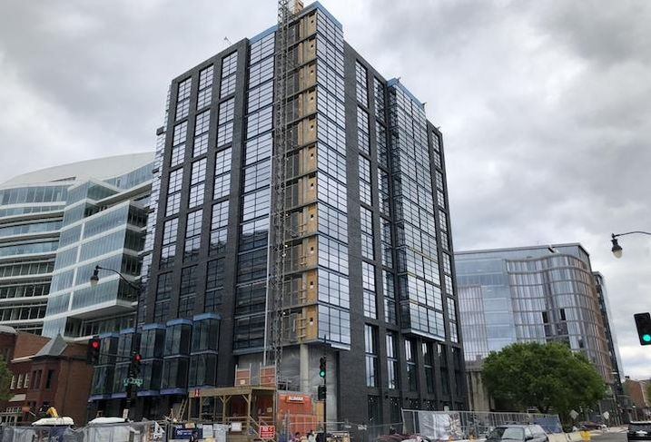 The AC by Marriott hotel project in Mount Vernon Triangle.
