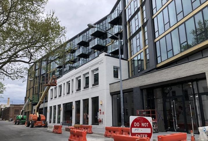 The Jefferson Apartment Group project at 2009 8th St. NW.