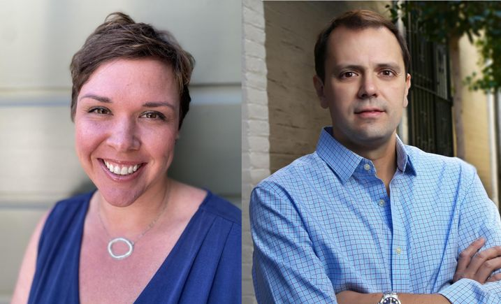 Former CGI Retail Vice President Catherine Meunier and Maven Commercial Principal and Managing Broker Santino DeRose