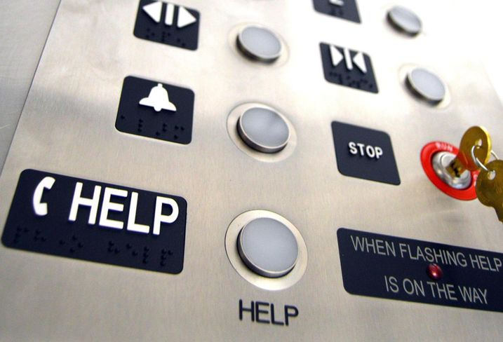 Sinking Feeling: Elevators Could Thwart Office Re-Entry