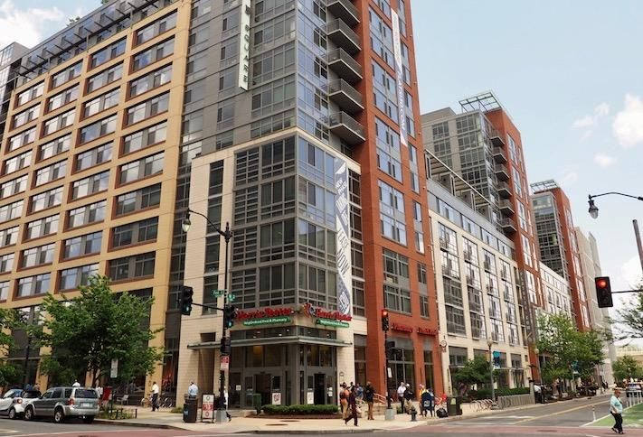 Harris Teeter anchors the Constitution Square development at the intersection of First and M streets NE in NoMa.