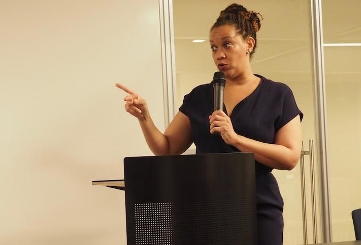 AAREP President Carisa Stanley at a January AAREP event.