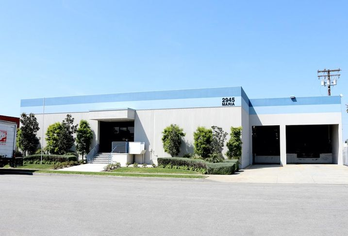 Industrial building at 2945 East Maria St. in Rancho Dominguez