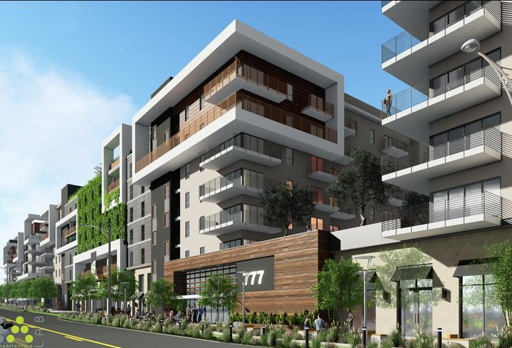 Rendering of the 777 North Front St. in Burbank